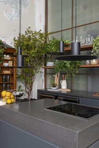 Luminaria Clip na cozinha matriz da Triart Arquitetura para casa cor sp