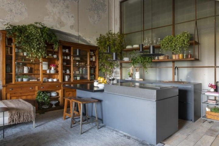 Ilha da cozinha matriz da triart arquitetura para casacor sp