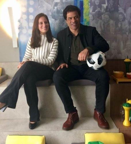 Raí, Ex- camisa 10 da seleção, ex-jogador do Paris Saint-Germain, diretor do São Paulo .