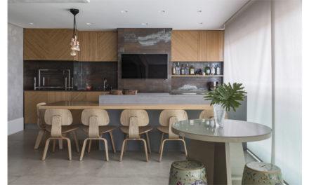 Ferrassa e Pickler assinam o apartamento estilo urbano chique