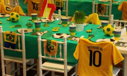 Dicas e inspirações para receber os amigos nos jogos da Copa do Mundo 2018.