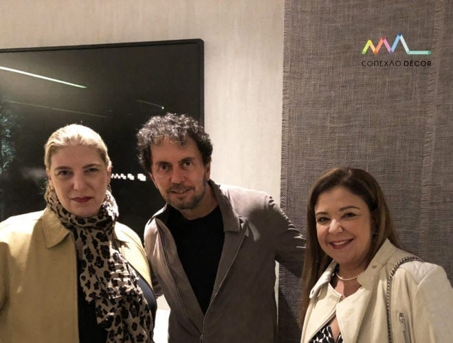 Celina Mello Franco, João Armentano e Liliane Abreu