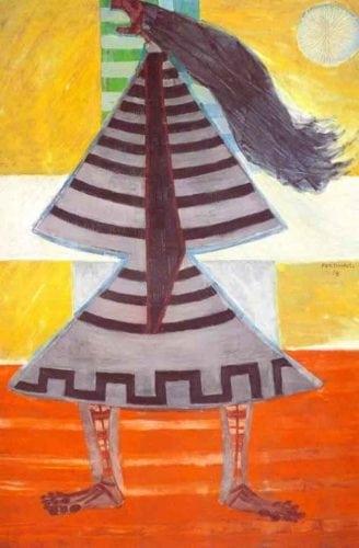 As obras Bailarinas de Carajás, pintadas por Candido Portinari. Obras de Candido Portinari foram inspiração para a criação de porcelanato.
