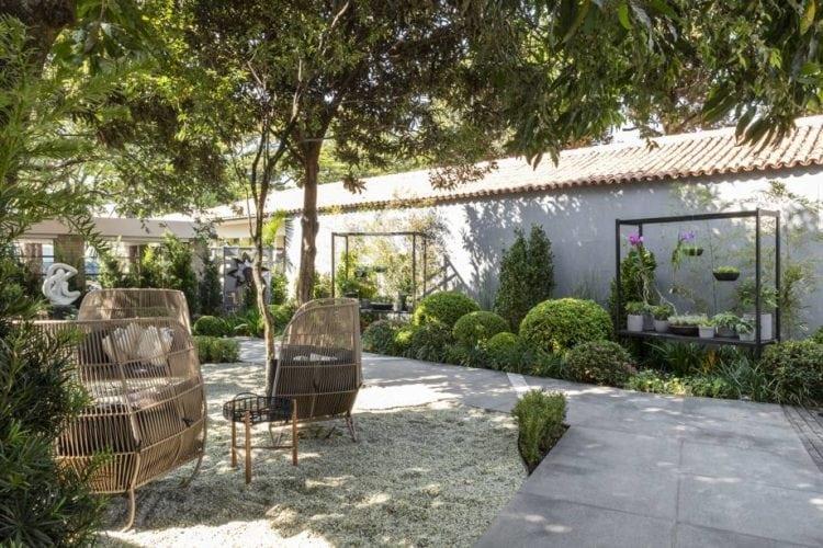 Jardim de roberto riscala para casa cor sp foto de renato Navarro