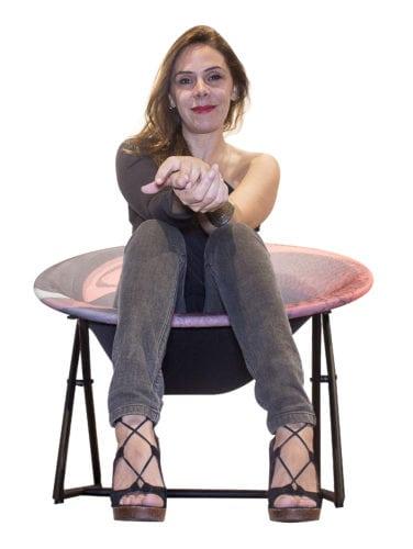 cadeira Vortex assinada por Luciana Teixeira: Novos Talentos 2018
