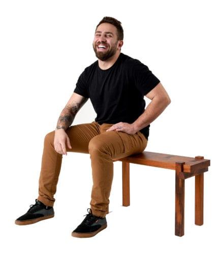 Novos Talentos 2018 -banco Nimo assinado pelo designer Kalvin Piletti