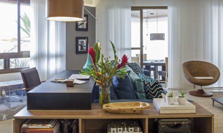 Reforma completa moderniza um apartamento na Vila Leopoldina.