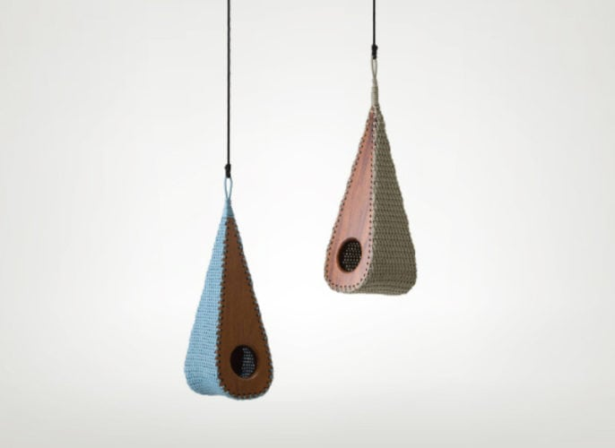 Birdhouse Gotinha, da Lattoog Design Natural Optimism