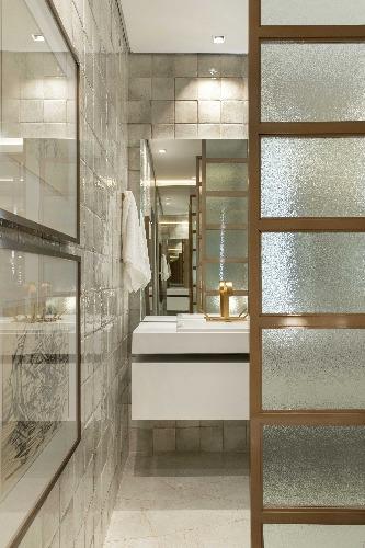 banheiro do ambiente de Manarelli Guimarães para a mostra CasaCor Ribeirão Preto