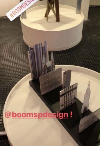 Design Week SP 2018. Boomspdesign, revisteiro Sky Line SP