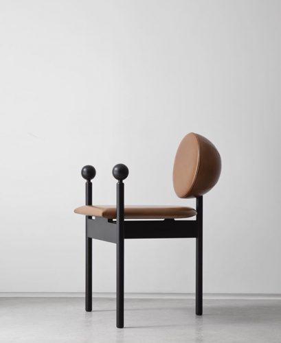 Design Week SP 2018. Cadeira da coleção ORBE , do design Guilherme Torres