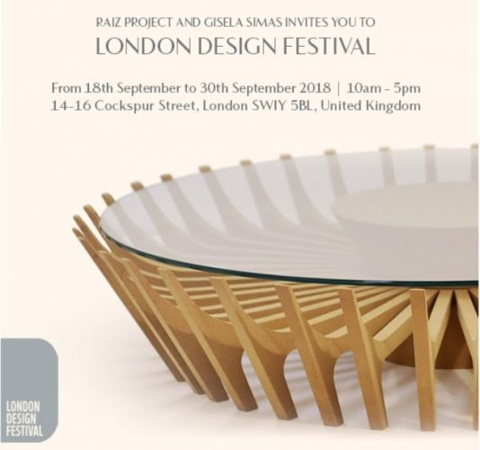 Luminaria Congonhas de Gisela Simas para London Design Week