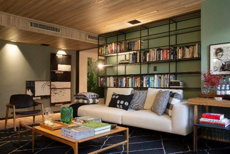 Living Sage assinado pela arquiteta Bianca da Hora na Casa Cor Rio 2018