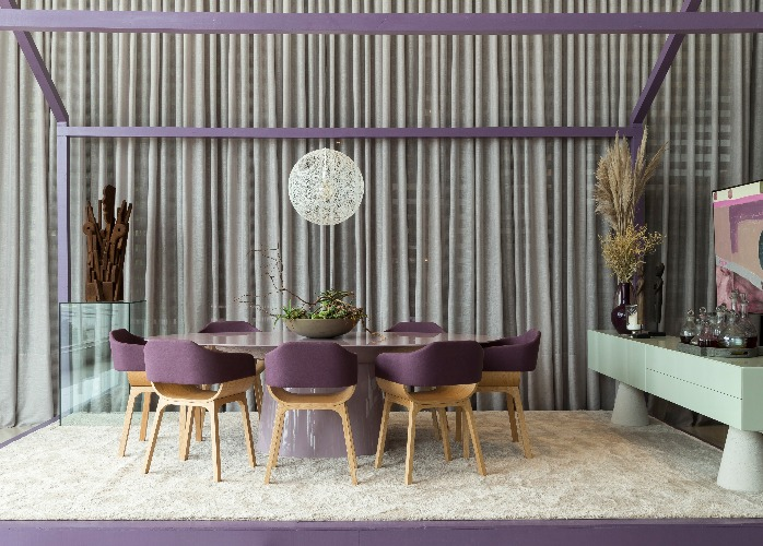 Sala de Jantar de Marcelo Salum para a mostra Bellacatarina