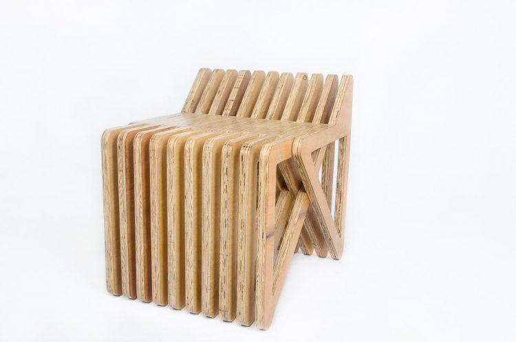 Banqueta Uba do Studio Pedro Galaso em móveis funcionais por fabiano ravaglia