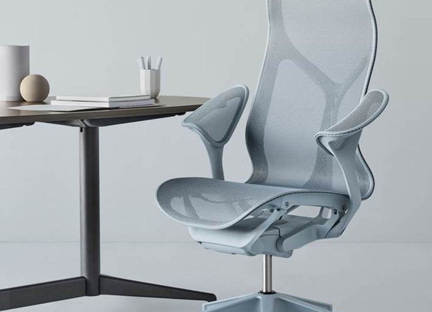 Conforto cósmico na nova cadeira da Herman Miller.