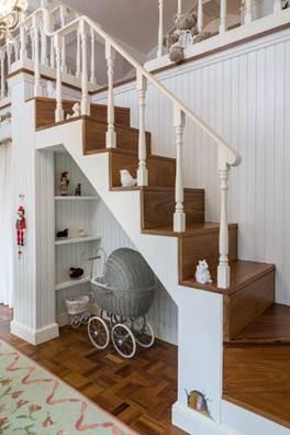 Projeto infantil reproduz perfeitamente, em miniatura, a clássica fazenda da família.