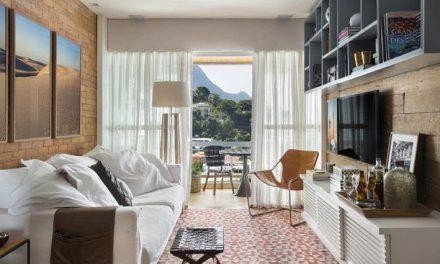 Apartamento contemporâneo casual com pegada comfy