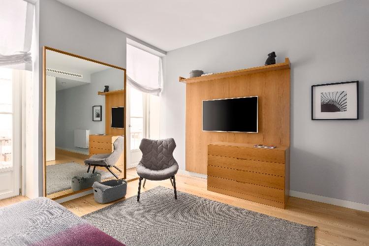 Apartamento em Lisboa com projeto de interiores assinado por GABRIELA ELOY e CAROLINA FREITAS, com a arquiteta local PAULA ENGEL (11)