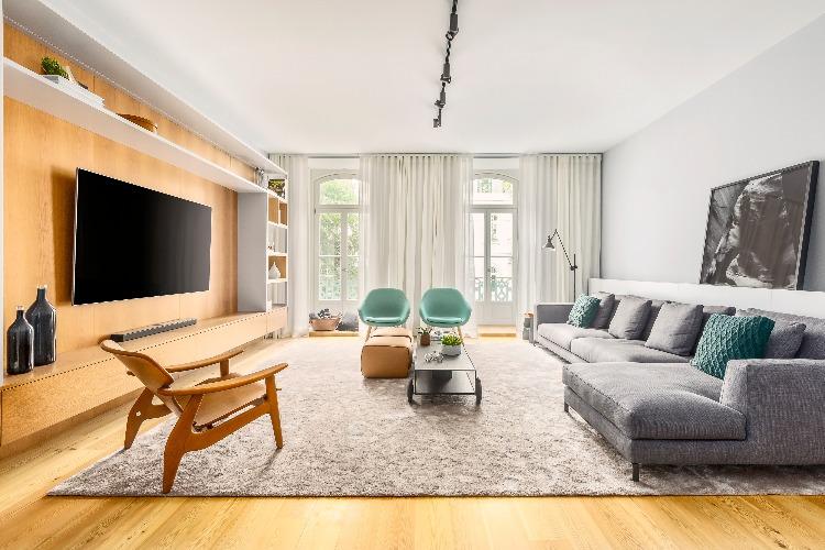 Apartamento em Lisboa com projeto de interiores assinado por GABRIELA ELOY e CAROLINA FREITAS, com a arquiteta local PAULA ENGEL (3)