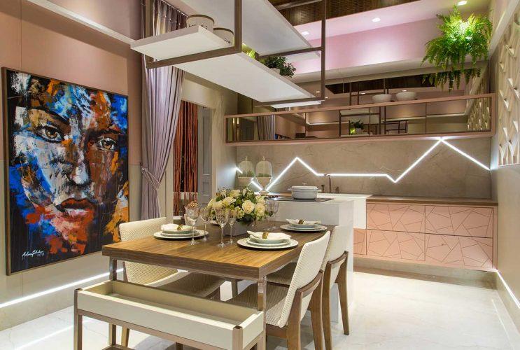 Cozinha Sensações por Invento Design com produtos Arauco para Mostra Sul Blumenau
