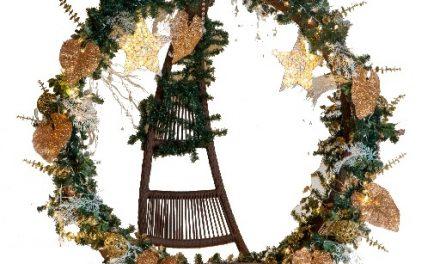 Exposição de Guirlandas de Natal no CasaShopping