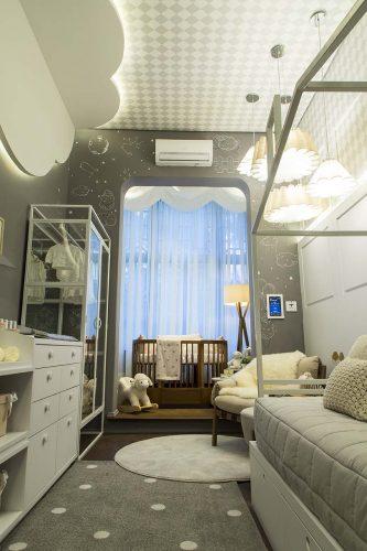 Quarto do Bebe por In9ve Arquitetura com produtos Arauco para Mostra Sul Blumenau