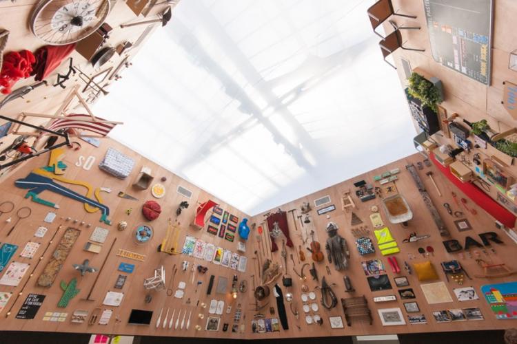foto do pavilhão da Bienal de veneza