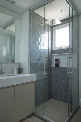 banheiro do apartamento de Bruno Moraes
