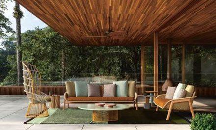 Linha de móveis assinada pela badalada designer Patricia Urquiola.