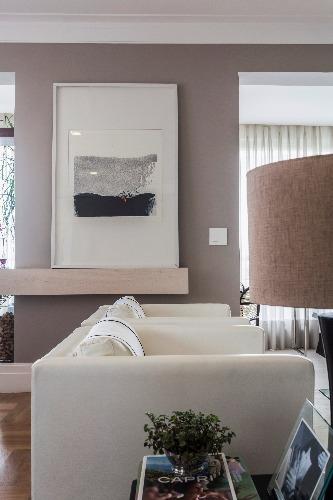 quadro da sala de estar assinada por Lucianne Korn