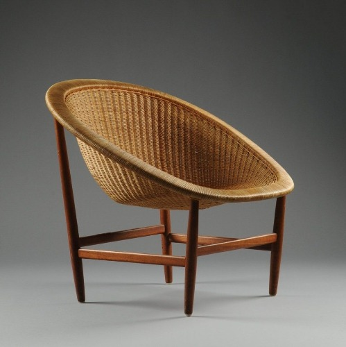 Basket Chair, 1950. Designer Nanna Ditzel