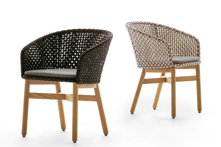 Cadeiras e tramas em novas cores assinadas por Sebastian Heckner para Collectania
