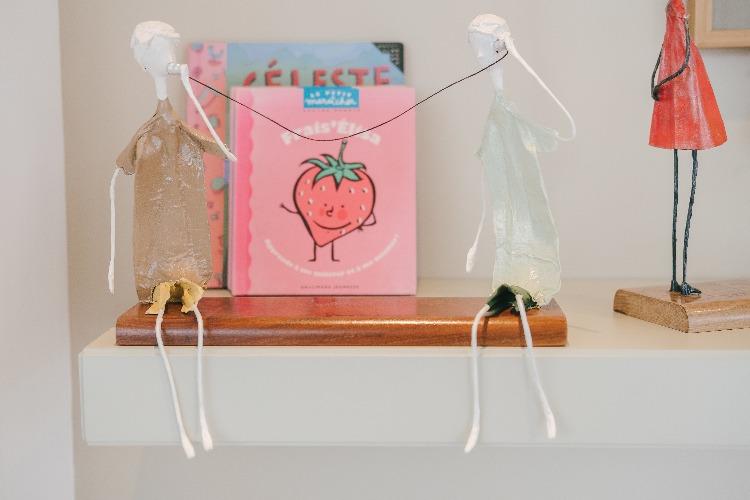 esculturas infantil na decoração infantil