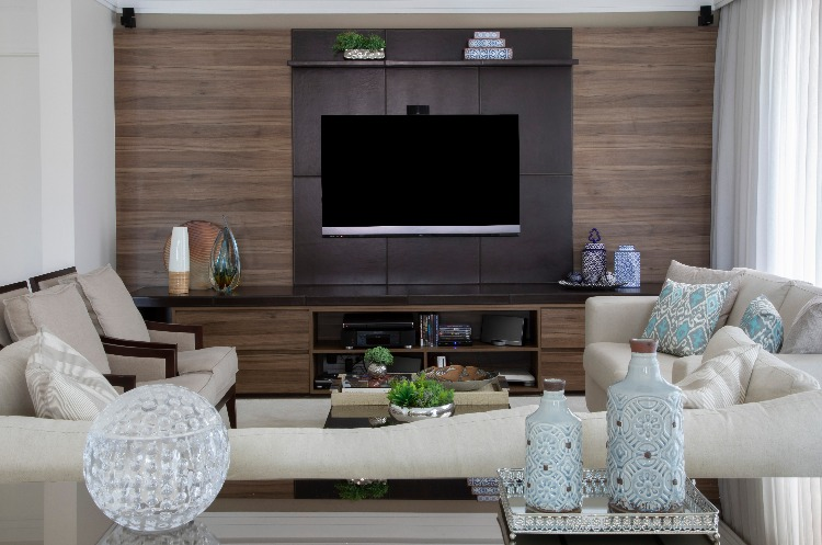 home theater assinado por Cris Paola