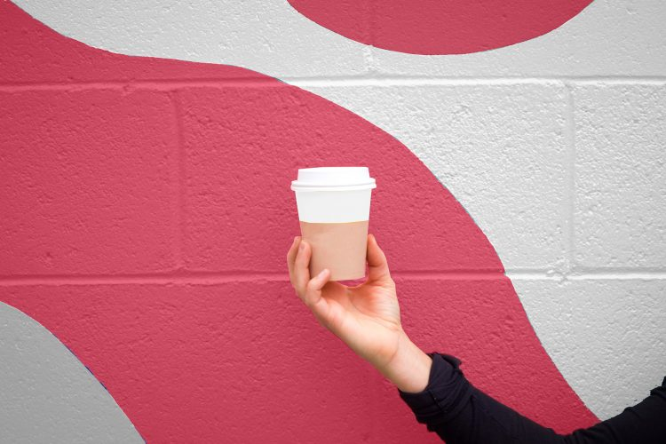 parede pintada com o Rosa Sedução da Sherwin Williams