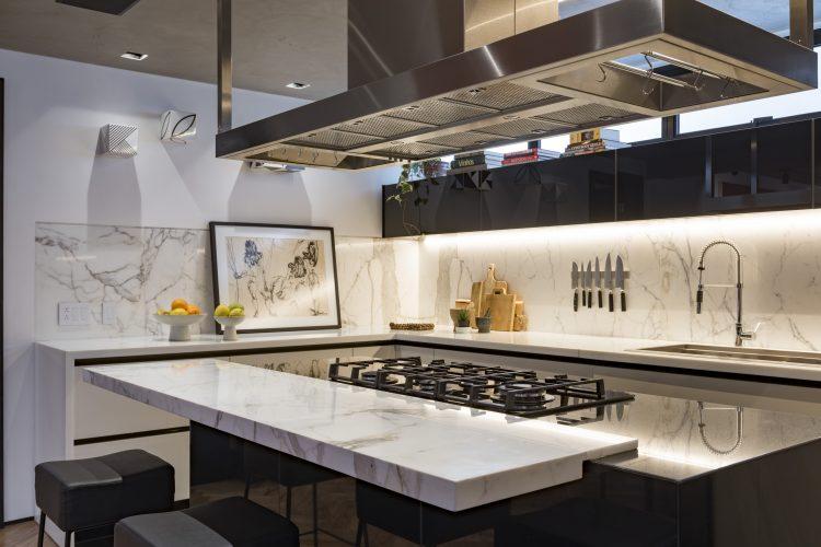 cozinha do projeto de Consuelo Jorge