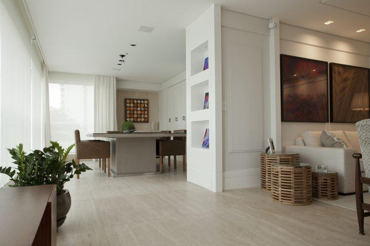 piso unificado da sala de jantar asssinado por Leonardo Junqueira