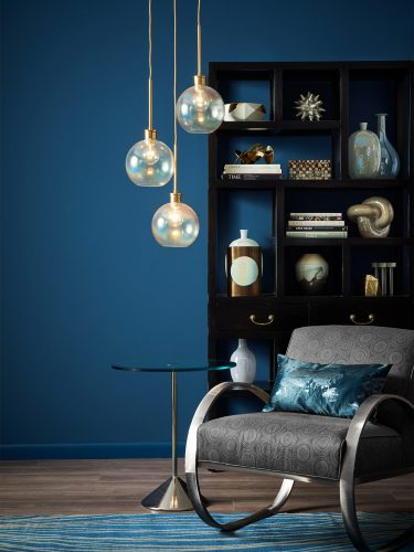 Cor azul da Paleta Transformador da Sherwin Williams