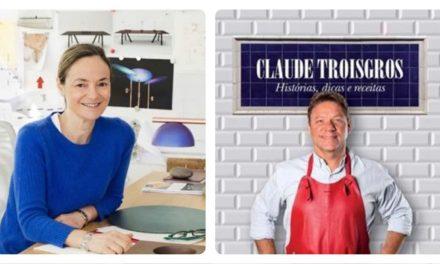 CLÁUDIA & CLAUDE:  mestre do design + mestre da gastronomia