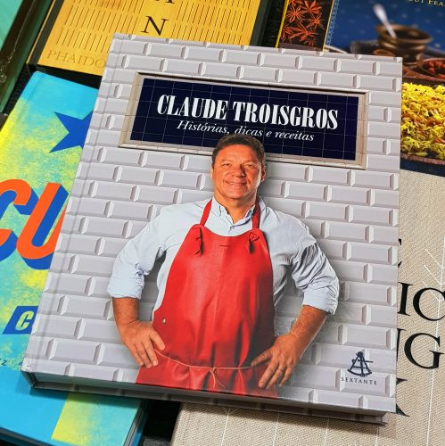 Capa do livro de Claude Troisgros.