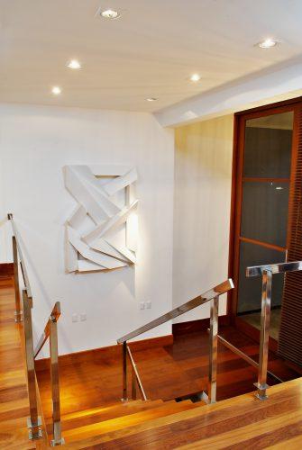 escada assinada por Marlon Gama