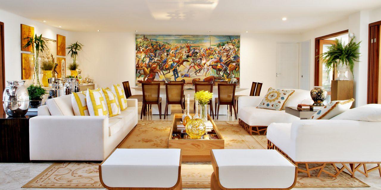 Marlon Gama assina casa com leveza e muito conforto