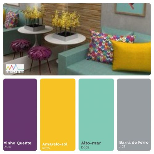 Combinação de cores by Conexão Décor