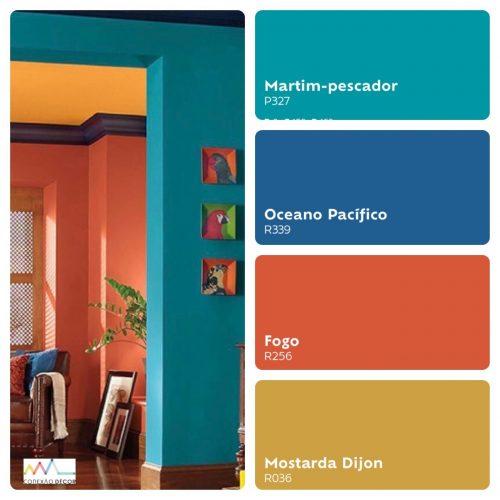 Combinação de cores by Conexão Décor.