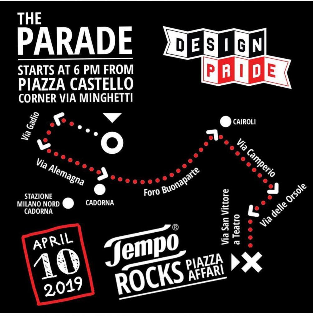 Design Pride Milano 2019, cartaz