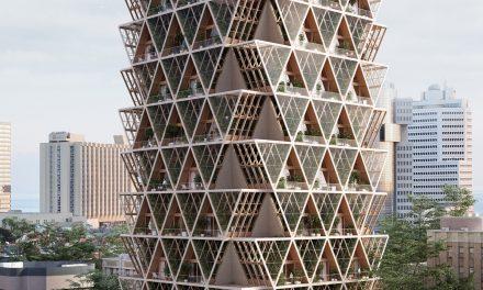 Já imaginou uma torre que mistura residência e agricultura? Conheça o novíssimo Farmhouse, do Precht Studio