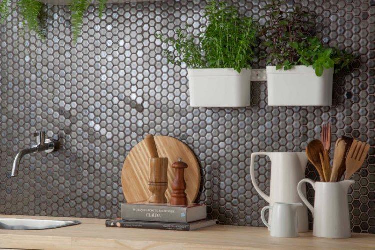 linha hexagonal da cerâmica Atlas