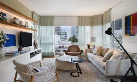 Adriana Esteves e Flávia Lucas atualizam apartamento com muito charme