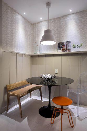 cozinha do Apartamento em Ipanema assinado pelas ex socias Adriana Esteves e Flavia Lucas